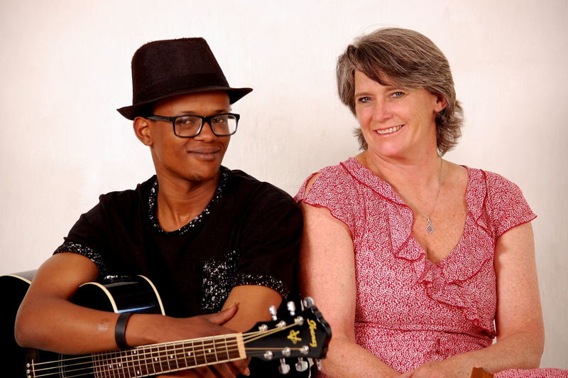 Local act Joanne Cooper and Lebz - music