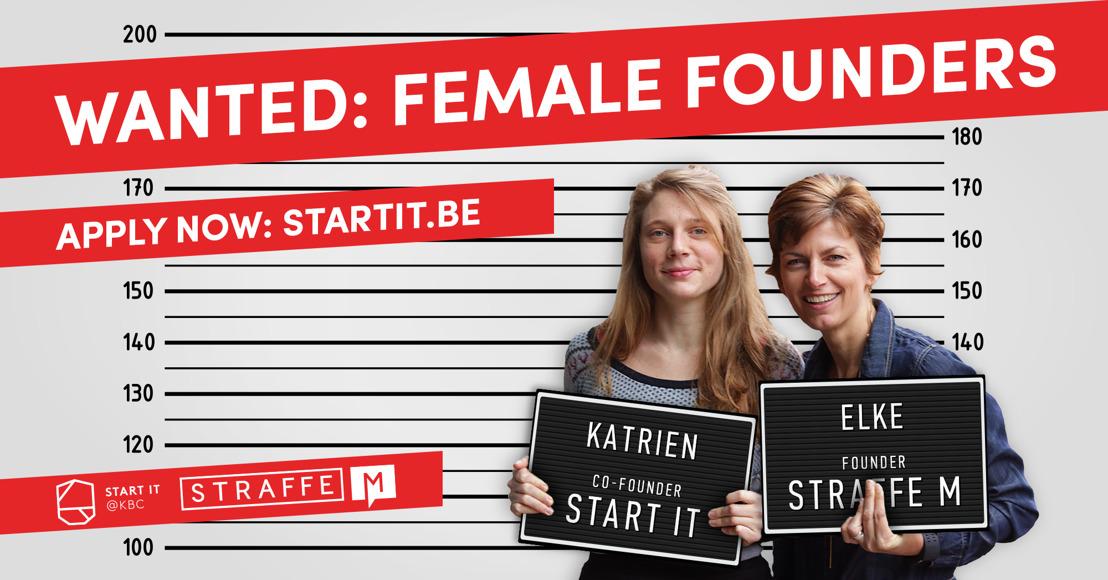 Start it @kbc wil meer straffe madammen laten ondernemen