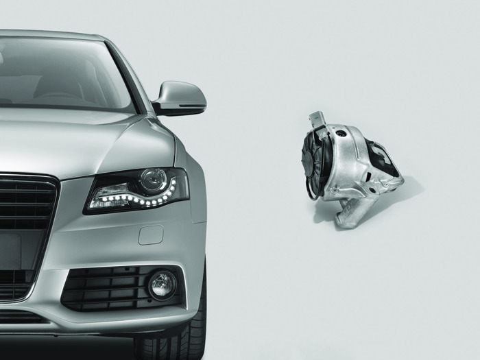 ZF Aftermarket: instelbare motorsteunen voor groter rijcomfort
