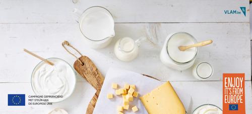 Belgische zuivelsector toont hoe melkproducten bijdragen aan een gezonde en duurzame toekomst