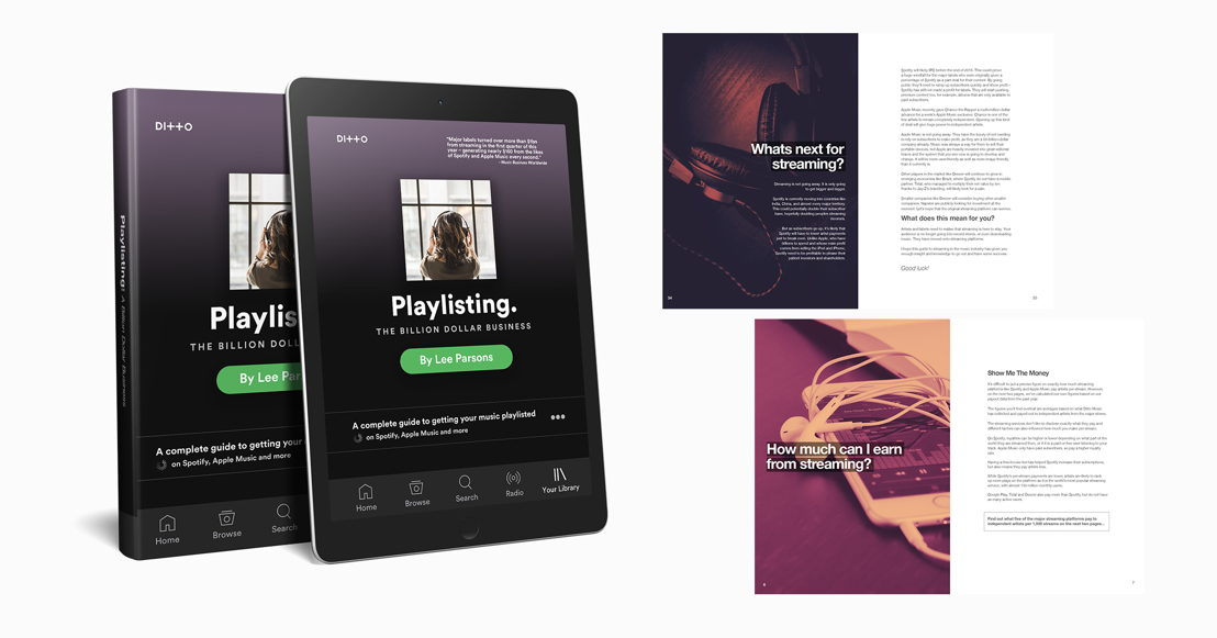 Ditto Music Playlisting (Ebook)