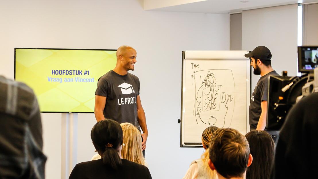 Exclusief - VIDEO: Vincent Kompany ontpopt zich tot leraar Nederlands