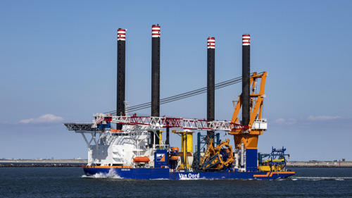 Construction of Belgium's largest offshore wind farm kicks off