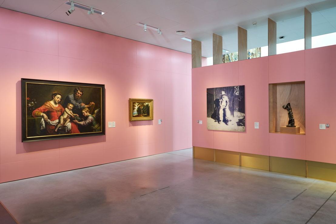 """Présentation de la collection M: """"La puissance des images"""" au M-Museum Leuven, photo (c) Dirk Pauwels"""