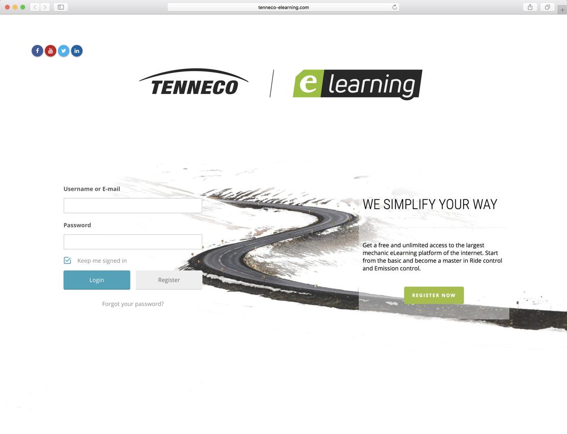 Tenneco lancia la sua piattaforma di eLearning per il mercato aftermarket