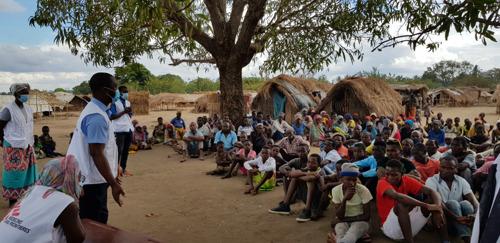 """Cabo Delgado, Mozambique: """"Las condiciones en las que viven los desplazados son un caldo de cultivo para enfermedades como el cólera"""""""