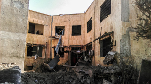MSF: Reports show dangerous healthcare gaps for mothers and children in East Darla, Syria