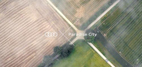 Audi en Paradise City op een kruispunt, samen met Prophets.