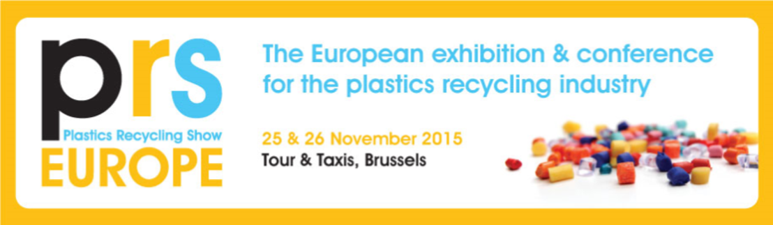Plastics Recycling Show 2015 - less then 3 months to go!
