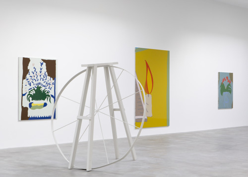 Gary Hume and Francis Upritchard in Museum Dhondt-Dhaenens