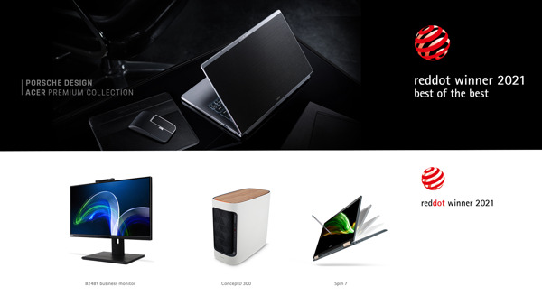 Preview: Porsche Design Acer Book RS and TravelPack RS Win Red Dot: Best of the Best Award for Product Design