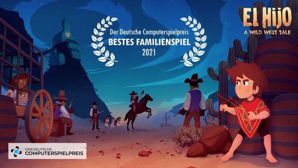 Preview: El Hijo - A Wild West Tale gewinnt beim Deutschen Computerspielpreis!
