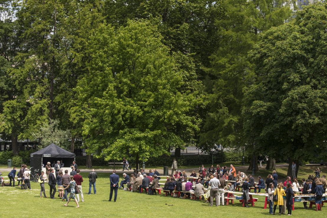 European Canteen Leopold Park (Copyright Andri Haflidason)