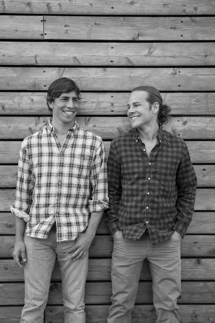 OUTFOUND co-founders Antonio Aransaenz (L) and Drew Neumann