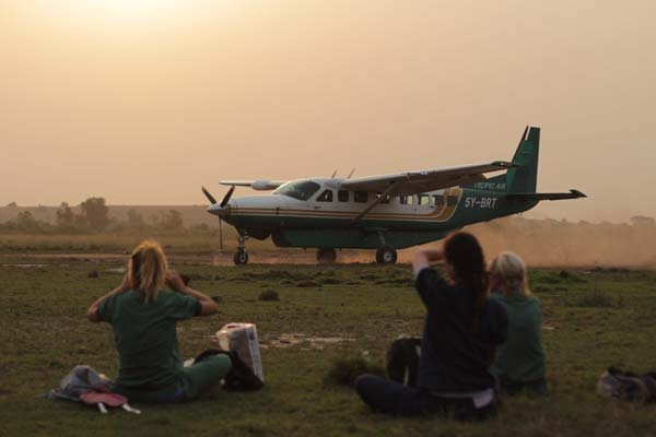 Flying doctors: Virunga (c) VRT