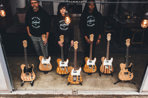Sounds of the City: New Wallace Detroit Guitars Apparel Channels the Artisan, Eco-Conscious Brand