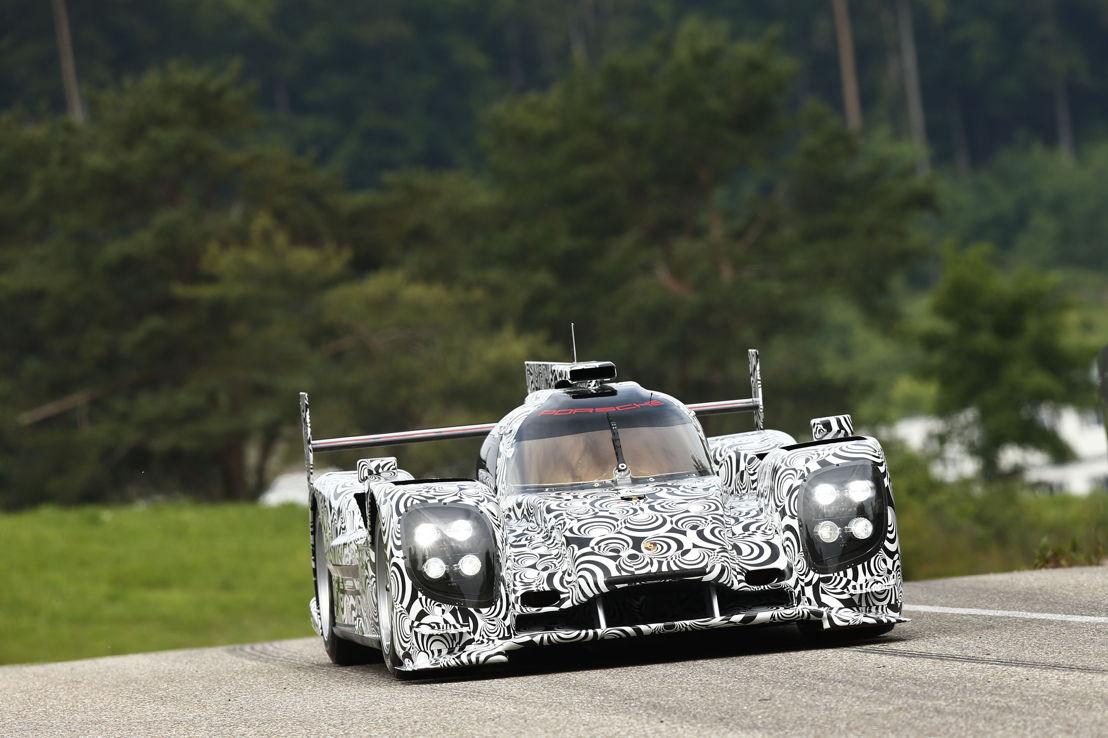 Porsche LMP1 Rollout in Weissach 2013