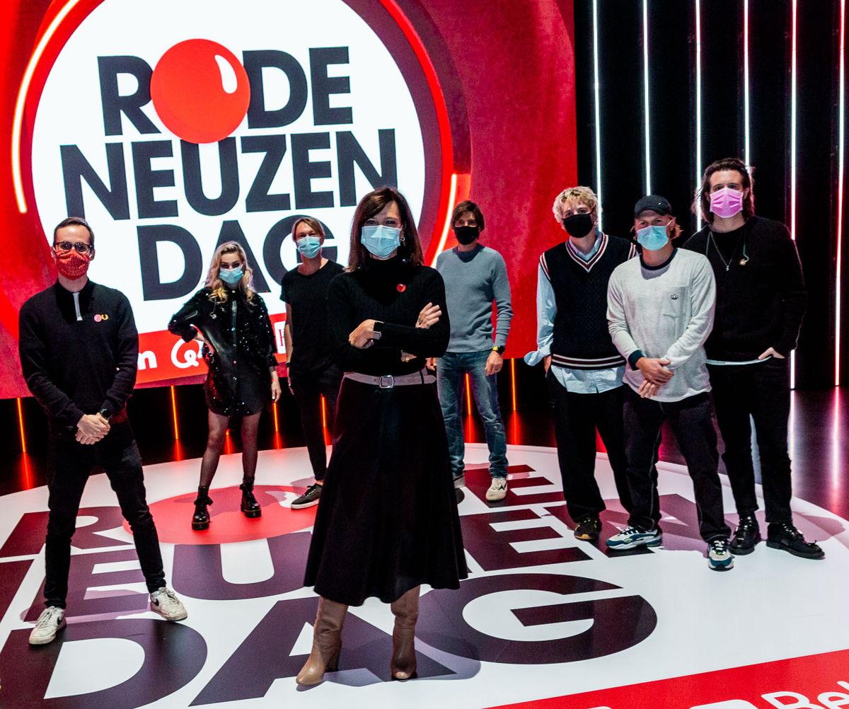 Vincent Fierens, Camille Dhont & Regi, Birgit Van Mol, Koen Wauters en Bazart