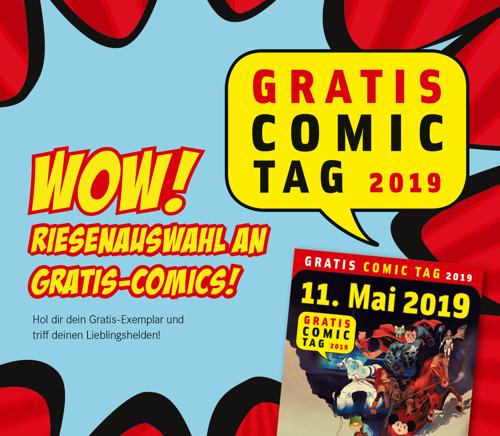 Gratis Comic Tag bei Hugendubel: Superhelden, kostenlose Comics und jede Menge Abenteuer