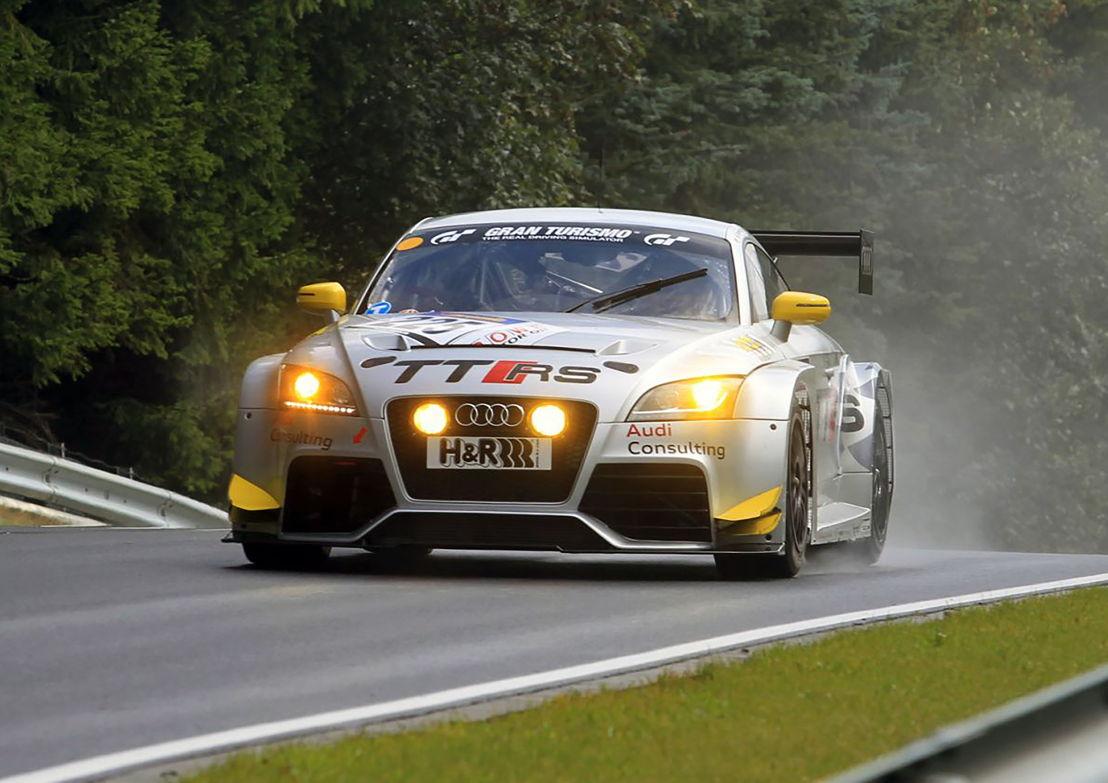Audi TT RS racing car, model year 2011
