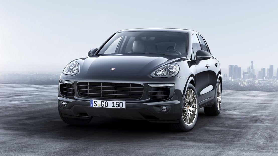 Porsche Cayenne Platinum Edition: Cayenne