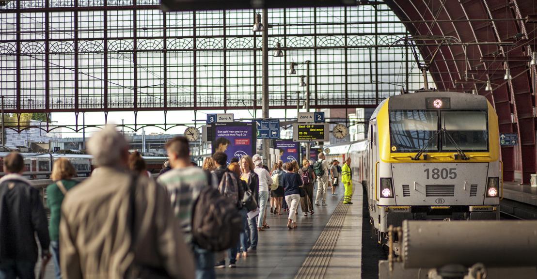 Staking zaterdag 17 augustus: Gegarandeerde treindienst