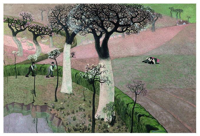 Gustave Van de Woestyne, Het Voorjaar