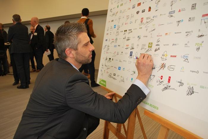 Schüco signe le Green Deal sur la construction circulaire
