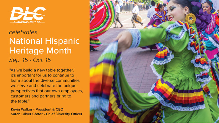 Preview: Join Duquesne Light Company in Celebrating National Hispanic Heritage Month