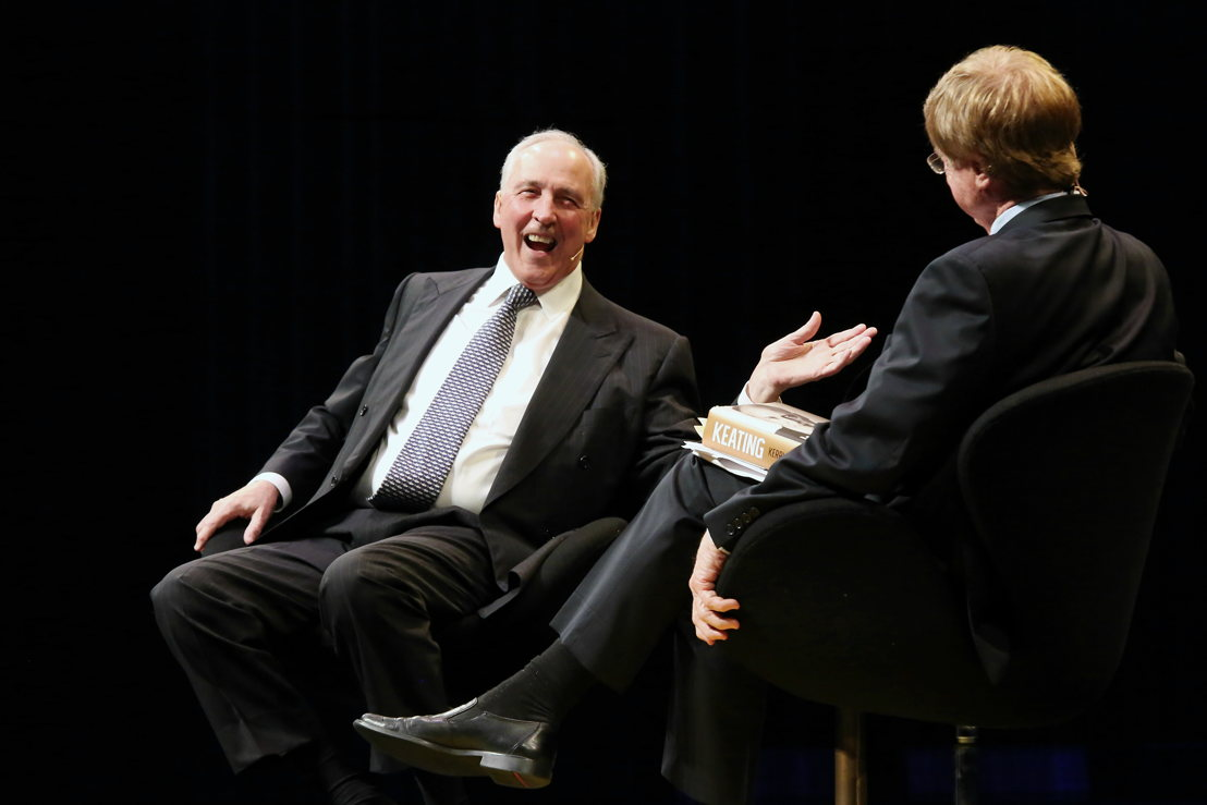 Paul Keating & Kerry O'Brien (credit: Prudence Upton)