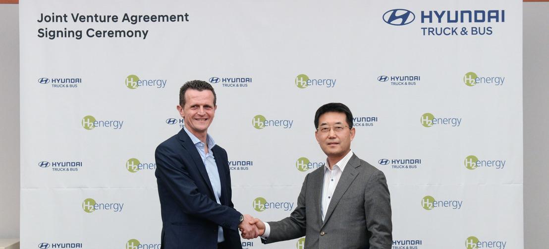 Hyundai Motor e H2 Energy firmano una joint venture per promuovere la mobilità a idrogeno in Europa