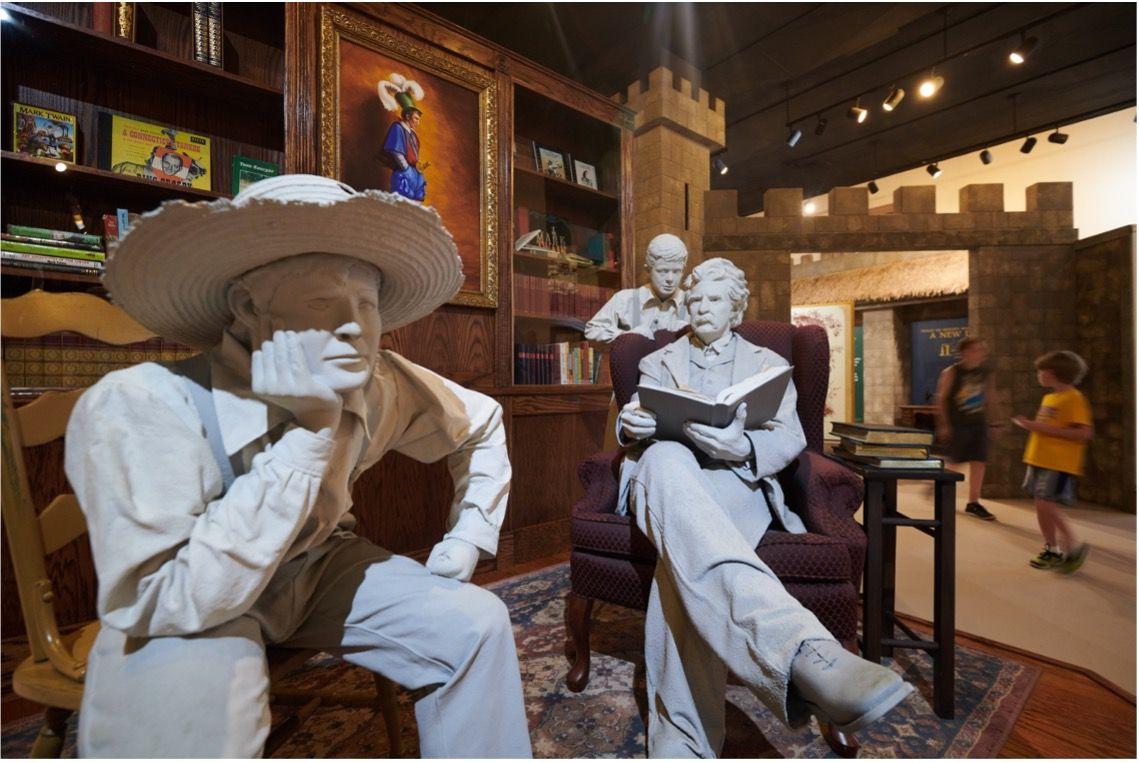 En Hannibal, Misouri, se rinde culto a Mark Twain y Huckleberry Finn