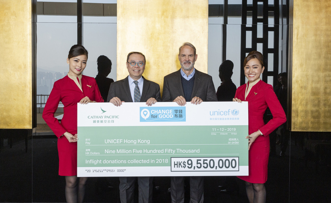 Cumulative Change for Good Donations Reach HK$193 million