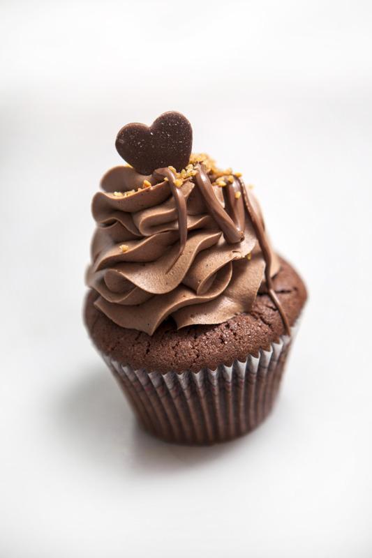 Heart melting nutella