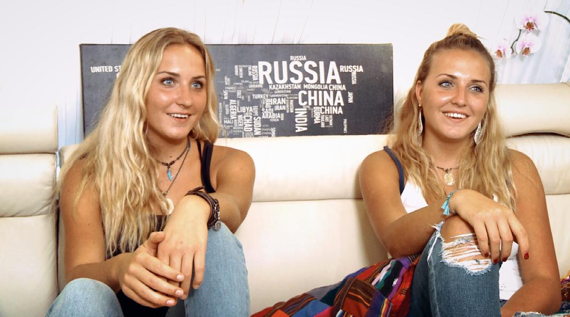 Shari en Jissy<br/>Hallo televisie! (c) VRT