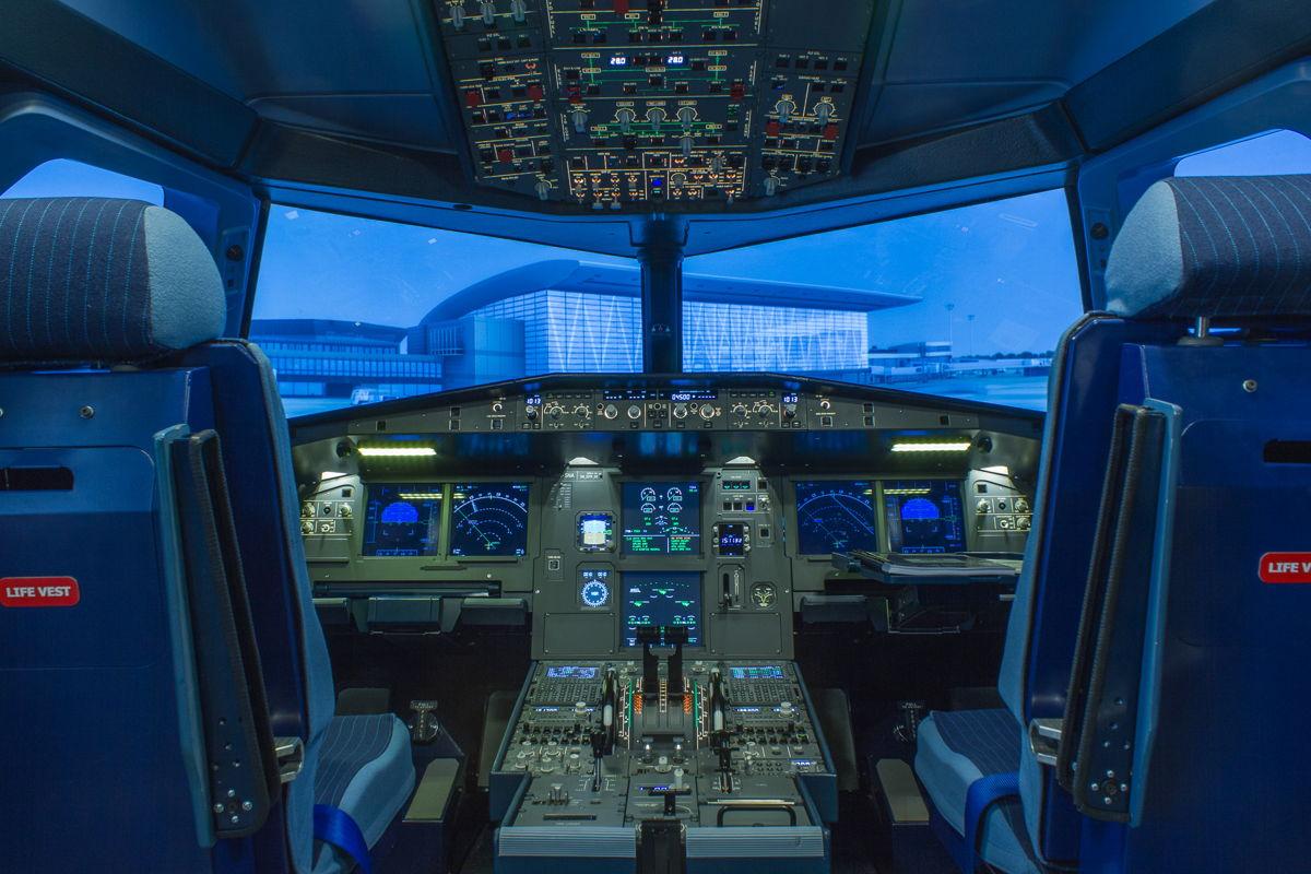 Mintha egy Airbus A320 pilótafülkéjében ülnénk