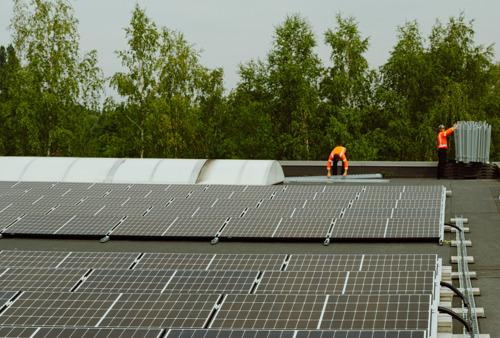 Weba vend de l'électricité régionale verte
