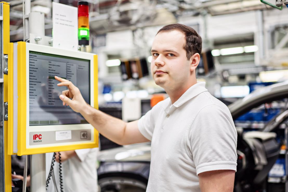 Successful launch of 'dProduction': ŠKODA AUTO optimises production processes at Kvasiny plant