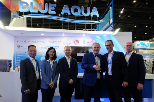 New Partnership With Blue Aqua