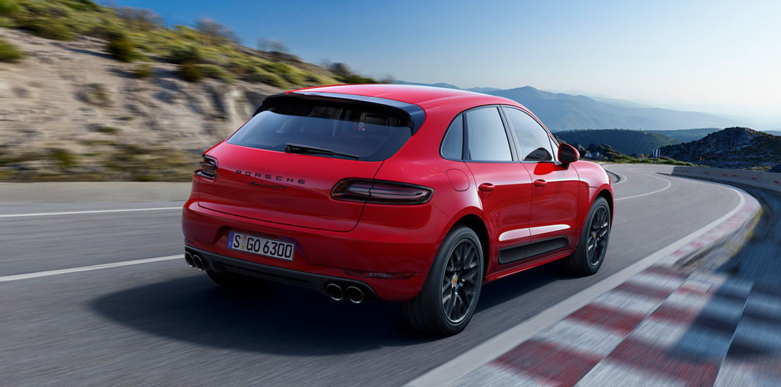 2015: Porsche Macan GTS. PTM con embrague multidisco controlado electrónicamente.