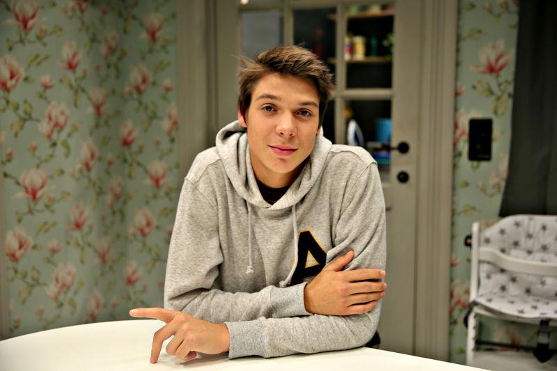 Mathieu Carpentier speelt Joren - THUIS (c) VRT