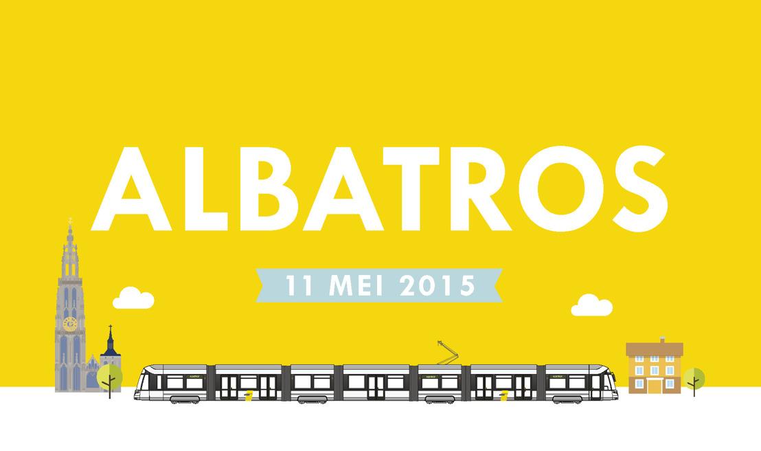 Flexity 2-tram heet voortaan Albatros