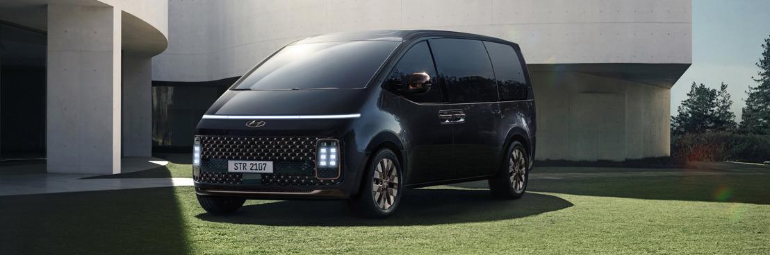 Hyundai STARIA fait ses débuts et ouvre la voie au futur de la mobilité grâce à sa sécurité et sa modularité