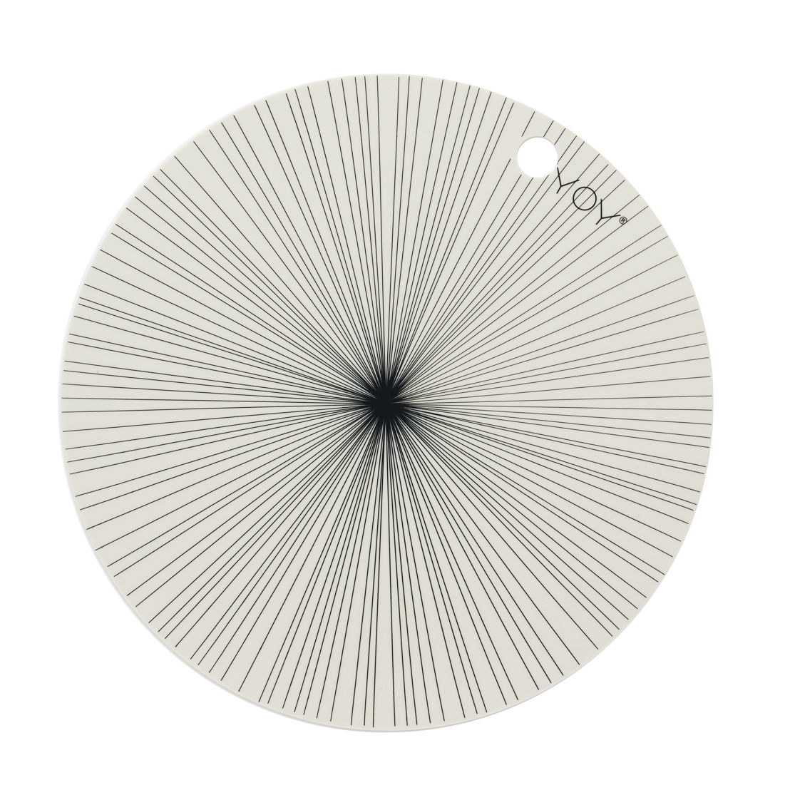 OYOY Placemats rond offwhite -€24