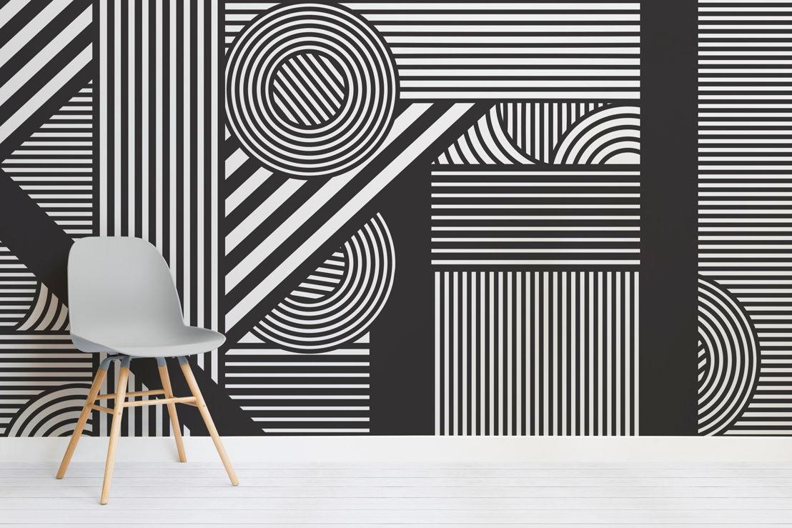 Oriz Geometric Mural - Chair