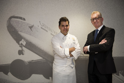 Cathay Pacific partners with The Langham, Hong Kong on new inflight menu to celebrate Madrid route launch