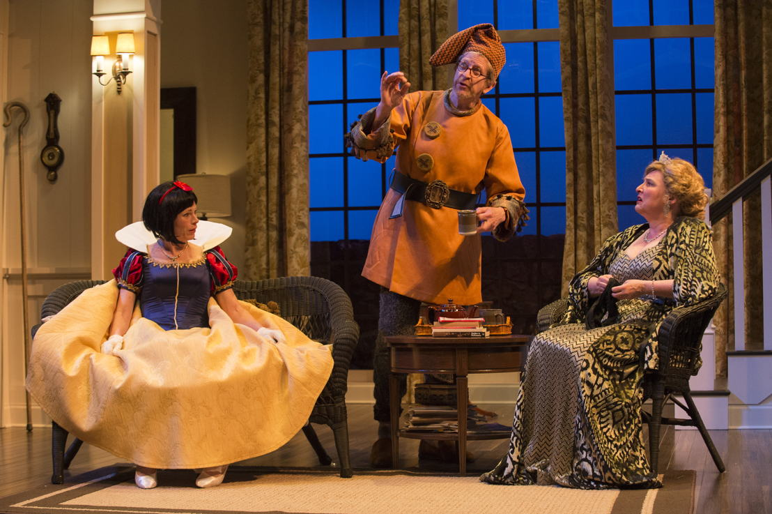 Brenda Robins, R.H. Thomson and Deborah Williams in Vanya and Sonia and Masha and Spike by Christopher Durang / Photos by David Cooper