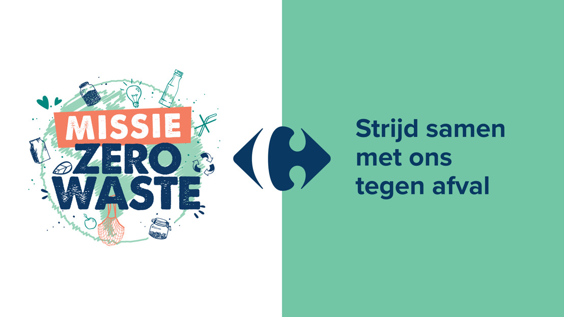 Carrefour werkt samen met Denuo en lanceert het platform « Missie Zero Waste » : een participatieve consultatie om afval te bestrijden
