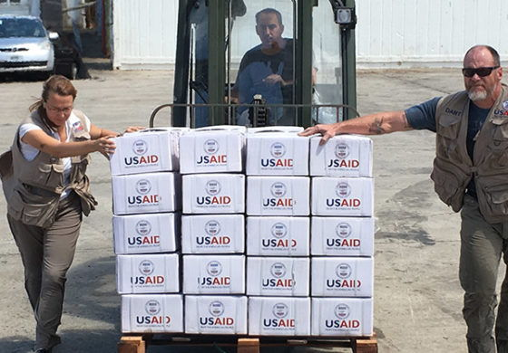 USAID: Humanitarian assistance to the Caribbean