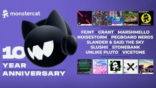 Rocket League Celebra el 10mo Aniversario de Monstercat